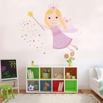 Vinile decorativo e adesivi per bambini fata magica