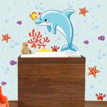 Vinile per bambini di neonati mondo marino
