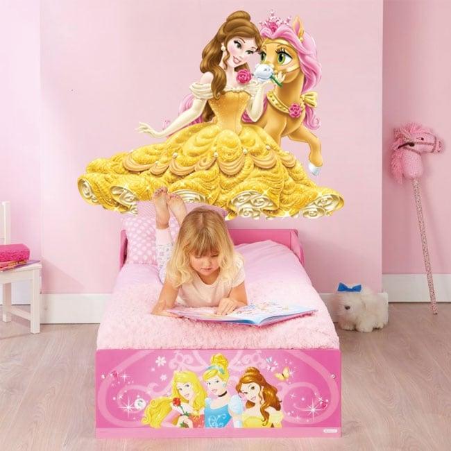 Vinili bambini o giovani principessa e pony
