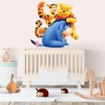 Adesivi in vinile per bambini disney winnie the pooh