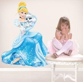 Vinili bambini o giovani principessa jasmín ed elefante