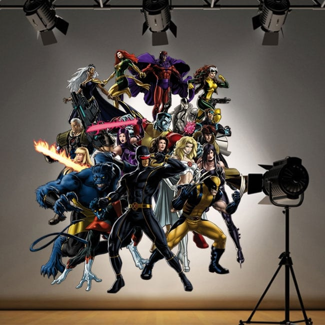 Adesivi e vinili decorativi supereroi x-men