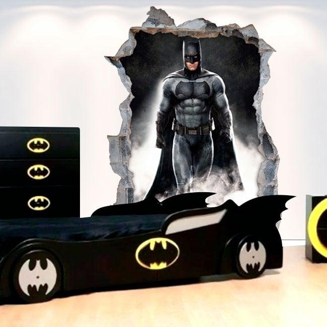 Adesivi in vinile decorativo 3d batman
