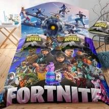 Vinili videogiochi fortnite testata del letto