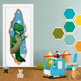 Vinile per bambini porta 3d jessie toy story