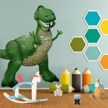 Vinile per bambini disney rex dinosauro toy story