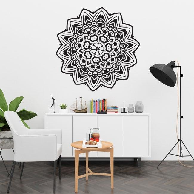 Mandala in vinile per pareti e finestre