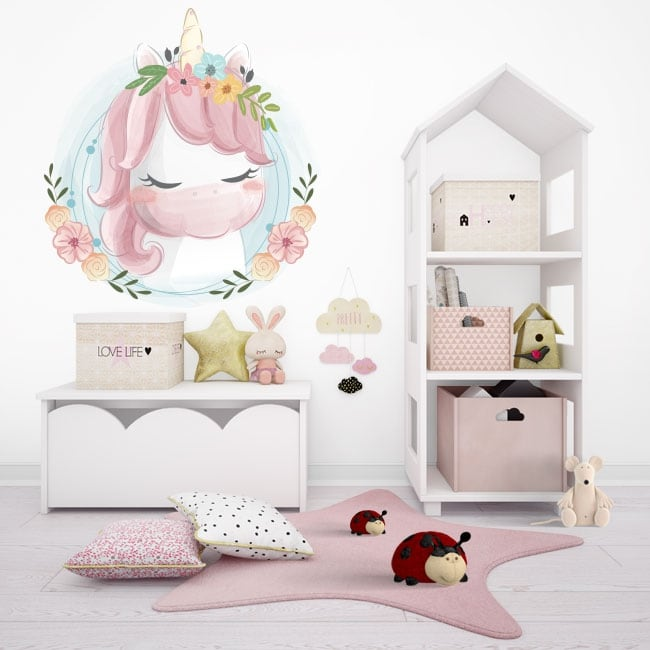Vinili infantile o giovanile baby unicorn