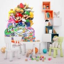 Vinile e adesivi videogioco mario party