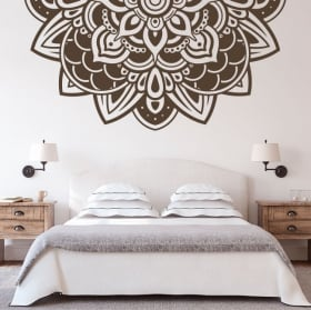 Adesivi murali metà di mandala