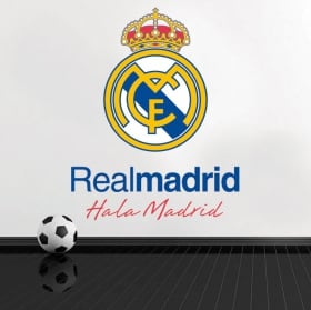 Vinili calcio real madrid scudo