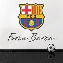 Vinile e adesivi calcio club barcellona