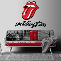 Adesivi e vinile decorativo the rolling stones