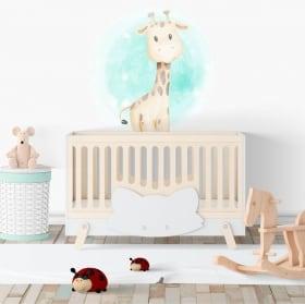Vinile per bambini o neonati giraffa