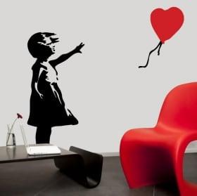 Vinile decorativo e adesivi coppia innamorata