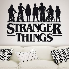 Vinile decorativo stranger things