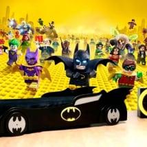 Murales in vinile batman lego