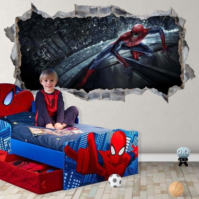 Vinile e adesivi 3d uomo ragno