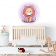 Vinile per bambini o neonati leone