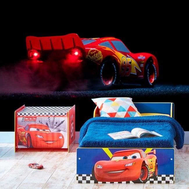 Murales in vinile disney lightning mcqueen cars 3
