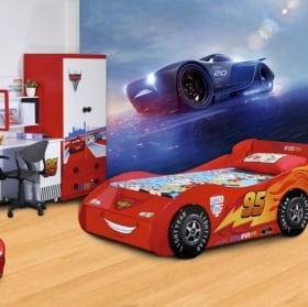 Murales per bambini disney automobili