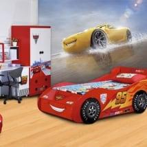 Murales per bambini auto disney cruz ramírez