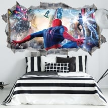 Vinili muri spiderman 3d