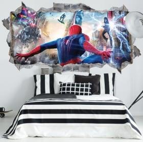 Vinili muri spiderman 3d
