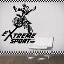 Vinile e adesivi motocross sport estremo
