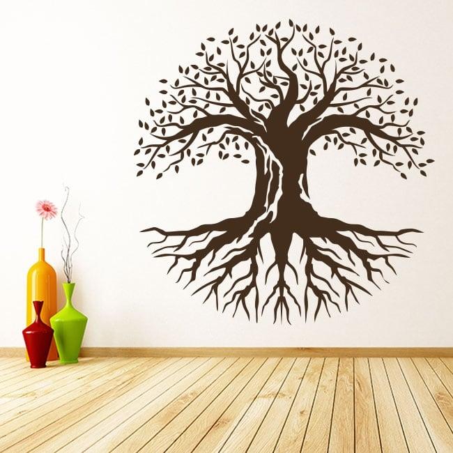 Vinile decorativo e adesivi l'albero della vita