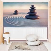 Murales in vinile pietre zen