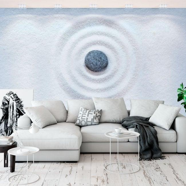 Adesivi murali in vinile pietre zen