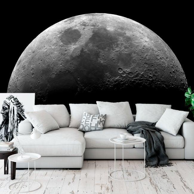 Murales adesivi della luna
