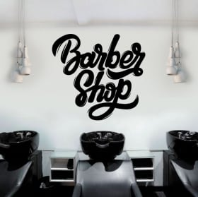 Vinile decorativo e adesivi barber shop