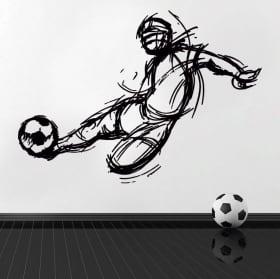 Vinile e adesivi calcio