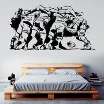 Vinile decorativo e adesivi rugby