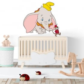 Vinile decorativo e adesivi dumbo disney