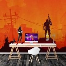 Murales videogioco fortnite