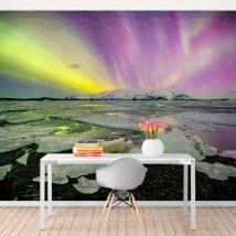 Murales aurora boreale islanda