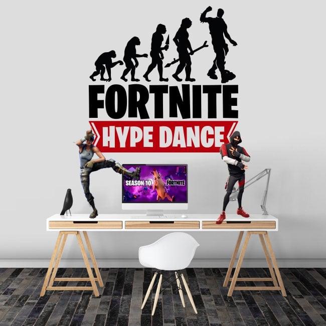 Vinile e adesivi fortnite hype dance