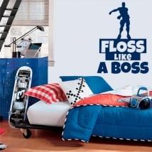 Vinile e adesivi fortnite floss like a boss