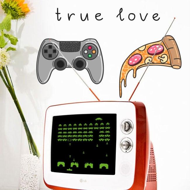 Vinile e adesivi videogiochi true love