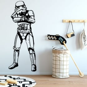Vinile e adesivi star wars stormtrooper