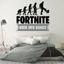 Vinile e adesivi fortnite kick ups dance