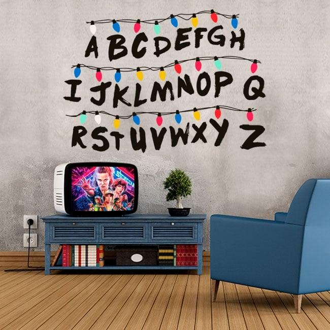 Vinile e adesivi alfabeto cose più strane
