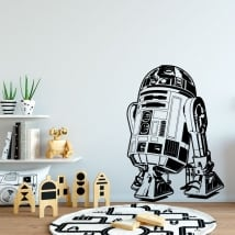 Vinile decorativo e adesivi star wars r2-d2