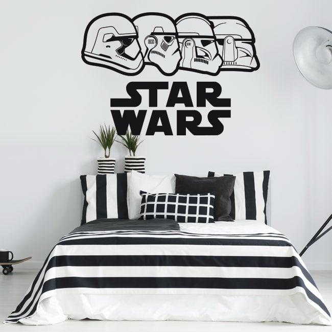 Adesivi in vinile guerre stellari stormtrooper