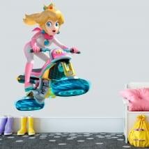 Vinile e adesivi principessa mario kart