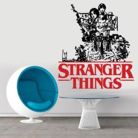 Vinile e adesivi stranger things