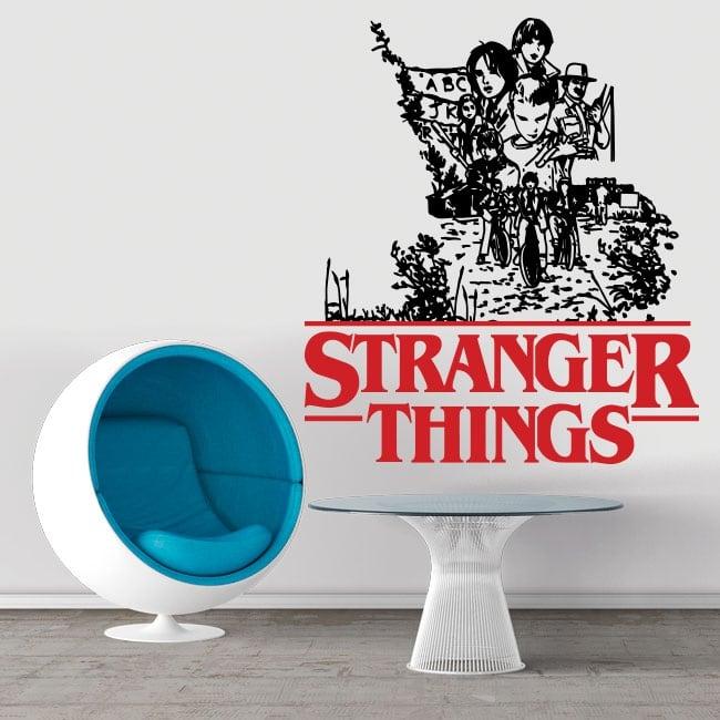 Adesivi stranger things